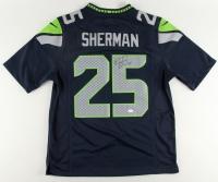 Richard Sherman Signed Seahawks Jersey (JSA COA)