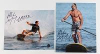 "Lot of (2) Laird Hamilton Signed 8x10 Photos Inscribed ""Aloha"" (Legends COA)"