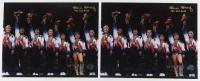 """Lot of (2) Kerri Strug Signed Team USA 8x10 Photos Inscribed """"'96 USA Gold"""" (Legends COA)"""