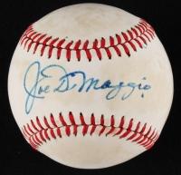 Joe DiMaggio Signed OAL Baseball (JSA ALOA & PSA LOA)