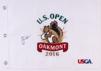 Jack Nicklaus Signed 2016 U.S. Open Pin Flag (JSA ALOA)