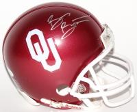 Brian Bosworth Signed Oklahoma Sooners Mini-Helmet (JSA COA)