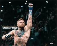 Conor McGregor Signed UFC 16x20 Photo (PSA COA)