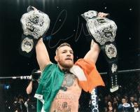 Conor McGregor Signed UFC 16x20 Photo (PSA COA)