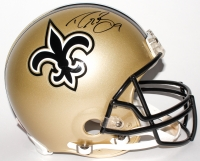 Drew Brees Signed Saints Full-Size Authentic On-Field Helmet (Brees Hologram)
