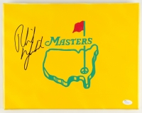Phil Mickelson Signed Masters 11x14 Painted Canvas (JSA COA)