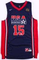 Magic Johnson Signed Team USA Jersey (PSA COA) at PristineAuction.com
