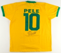 Pele Signed Team Brazil Authentic 1970 World Cup Finals Jersey (PSA COA)