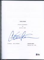 """Charlie Sheen Signed """"Major League"""" Full Movie Script (Beckett Witnessed COA)"""