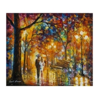 "Leonid Afremov Signed ""Flying Away"" 20x24 Original Oil Painting on Canvas."