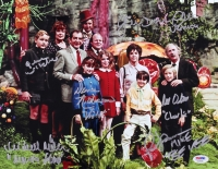 """Willy Wonka & the Chocolate Factory"" 11x14 Photo Signed by (6) with Gene Wilder, Peter Ostrum with Inscriptions (PSA LOA)"