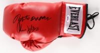 Roberto Duran & Tommy Hearns Dual Signed Everlast Boxing Glove (PSA COA)