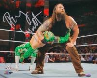 Bray Wyatt Signed WWE 11x14 Photo vs Sin Cara COA)