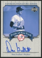 Don Gullett 2003 Upper Deck Yankees Signature Pride of New York Autographs #DG at PristineAuction.com