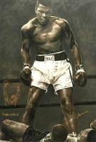 "Muhammad Ali Signed 32"" x 47"" Stephen Holland Artist Proof Giclee on Canvas - Artist Proof #40/40 (PSA LOA)"