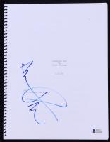 """Aaron Paul Signed """"Breaking Bad"""" Script (Beckett COA)"""