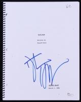"Dustin Hoffman Signed ""Rain Man"" Full Script (JSA COA)"
