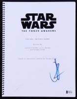 """J. J. Abrams Signed """"Star Wars: The Force Awakens"""" Full Movie Script (Beckett COA)"""