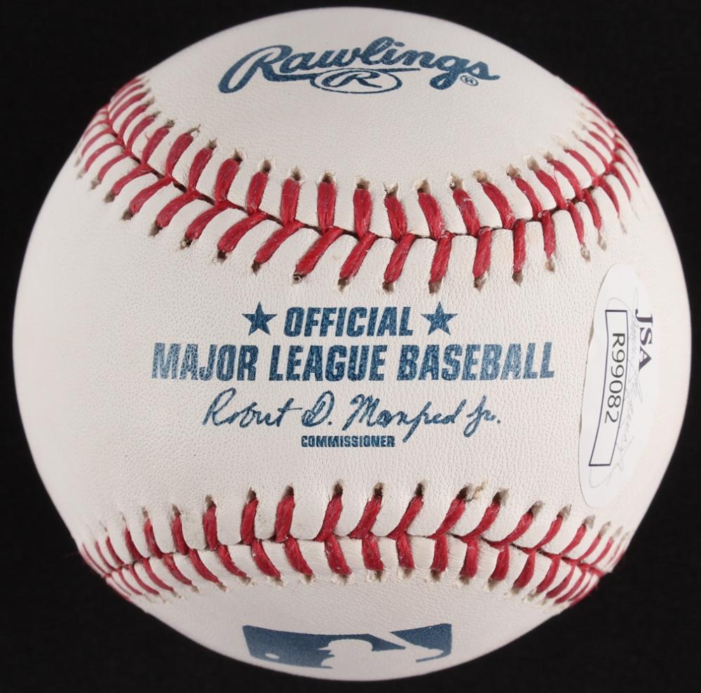 7e7ed7d2cc8 Jose Altuve Signed OML Baseball (JSA COA) at PristineAuction.com
