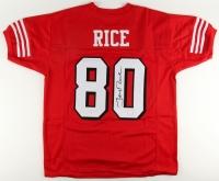 Jerry Rice Signed 49ers Jersey (JSA COA)