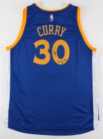 """Stephen Curry Signed Authentic Adidas Swingman Jersey Inscribed """"Human Torch"""" (Fanatics COA)"""