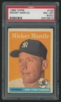 1958 Topps #150 Mickey Mantle (PSA 8) (OC)
