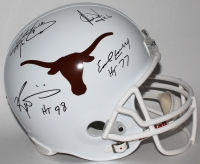 "Texas Longhorns Full-Size Helmet Signed by (4) with Colt McCoy, Earl Campbell, Vince Young & Ricky Williams Inscribed "" HT 98"" & ""HT 77"" (JSA COA)"