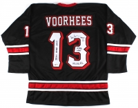 "Ari Lehman Signed Jason Voorhees ""Friday the 13th"" Hockey Jersey with (4) Inscriptions (PA COA)"
