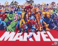 "Stan Lee Signed ""Marvel Universe"" 16x20 Photo (FSC COA & Lee Hologram)"