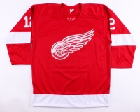 "Marcel Dionne Signed Red Wings Jersey Inscribed ""HOF 92"" (JSA COA) at PristineAuction.com"