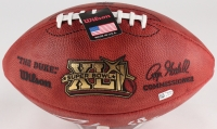 "Peyton Manning Signed Super Bowl XLI NFL Official Game Ball Inscribed ""SB XLI MVP"" (Fanatics Hologram) at PristineAuction.com"