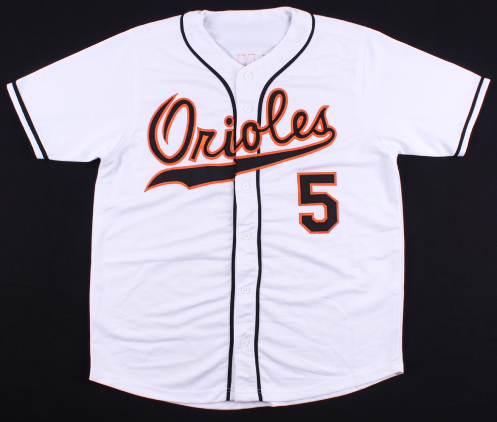 84ea49f9f Brooks Robinson Signed Orioles Jersey Inscribed