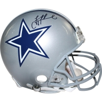Troy Aikman Signed Cowboys Full Size Authentic Proline Helmet (Steiner COA)
