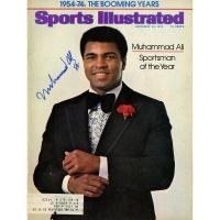 Muhammad Ali Signed Sports Illustrated Magazine (JSA)