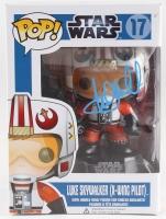 """Mark Hamill Signed """"Luke Skywalker X-Wing Pilot"""" Star Wars POP! Vinyl Figure (Radtke COA)"""