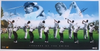 "Tiger Woods & Jack Nicklaus Signed ""Legends of the Swing"" 18"" x 36"" Photo (UDA Hologram)"