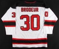 Martin Brodeur Signed Devils Jersey (JSA Hologram)