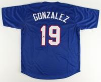 Juan Gonzalez Signed Jersey (JSA COA) at PristineAuction.com