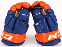 Connor McDavid Signed CCM Oilers Glove (UDA COA)