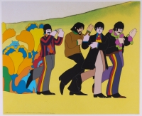 """The Beatles: Line Up Limited Edition 13.5"""" x 16.5"""" Sericel (PA LOA)"""