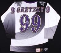 Wayne Gretzky Signed Kings Authentic 1995-96 Mitchell & Ness Jersey (UDA COA)