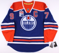 Connor McDavid Signed Authentic Oilers Captain Jersey (UDA COA) at PristineAuction.com