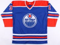 Grant Fuhr Signed Oilers Jersey (JSA COA) at PristineAuction.com
