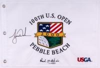 Tiger Woods Signed LE 2000 PGA U.S. Open Pin Flag (UDA COA)
