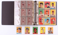 1958 Topps Complete Set of (495) Baseball Cards with #1 Ted Williams, #30 Hank Aaron, #47 Roger Maris RC, #52A Roberto Clemente, #150 Mickey Mantle at PristineAuction.com