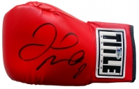 Floyd Mayweather Jr. Signed Title Boxing Glove (Beckett COA)