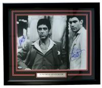 "Al Pacino & Steve Bauer Signed ""Scarface"" 22"" x 27"" Custom Framed Photo Display (PSA COA)"