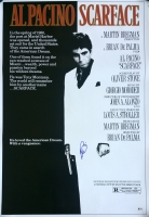 "Al Pacino Signed ""Scarface"" 27"" x 39"" Movie Poster (Beckett COA)"