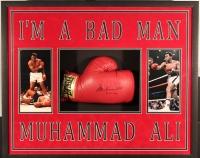 "Muhammad Ali Signed 25x31x4 Custom Framed Boxing Glove Shadowbox Display Inscribed ""9-12-93"" (JSA LOA)"