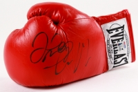 Conor McGregor & Floyd Mayweather Jr. Signed Everlast Boxing Glove (PSA & Beckett COA)